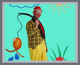 clown snoepy animatie